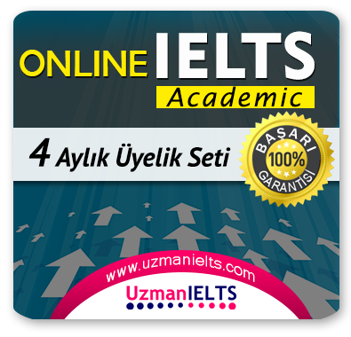 4 Aylık (IELTS Academic) + 4 Aylık Genel İngilizce Seti (MyKelime.com)
