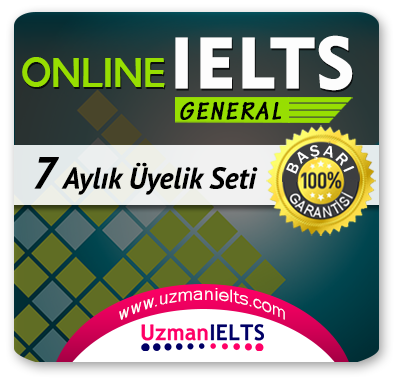 7 Aylık Üyelik Seti (IELTS General) + 7 Aylık Genel İngilizce Seti (MyKelime.com)