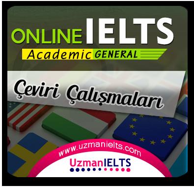 IELTS AC/GT Çeviri Çalışmaları