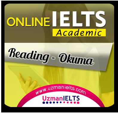 IELTS (Academic) Reading Çalışmaları