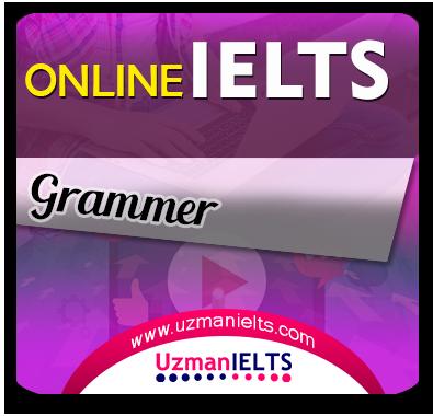 IELTS AC/GT Grammer Çalışmaları