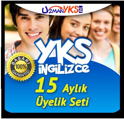 15 Aylık Üyelik Seti (YKS İngilizce ) + 15 Aylık Genel İngilizce Seti (MyKelime.com)