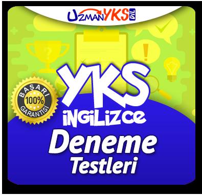YKS İngilizce Deneme Testleri