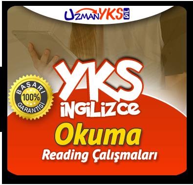 YKS İngilizce Okuma Çalışmaları