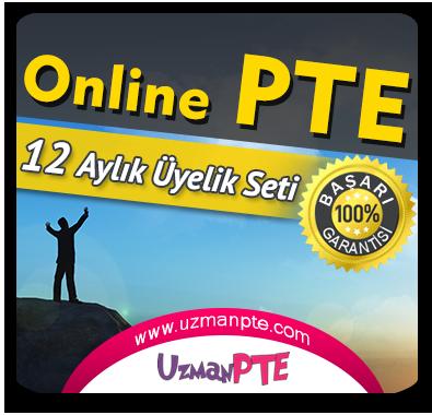 12 Aylık Üyelik Seti (PTE Academic)