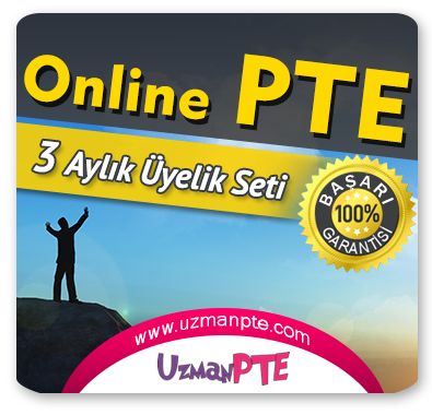3 Aylık Üyelik Seti (PTE Academic)