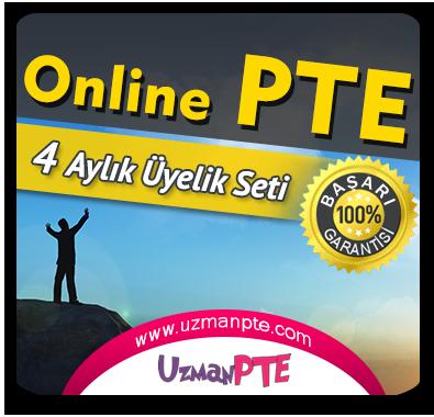 4 Aylık Üyelik Seti (PTE Academic) + 4 Aylık Genel İngilizce Seti (Temeldeningilizce.com)