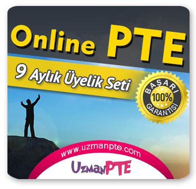 9 Aylık Üyelik Seti (PTE Academic) + 9 Aylık Genel İngilizce Seti (MyKelime.com)