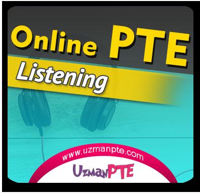 PTE Academic Listening Çalışmaları