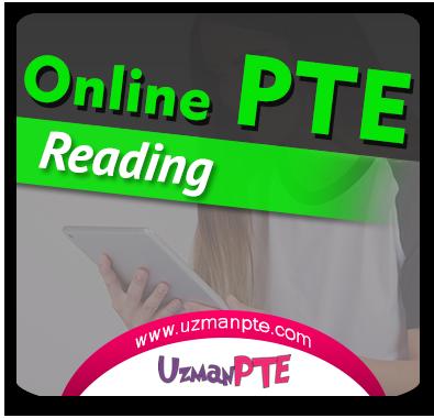 PTE Academic Reading Çalışmaları