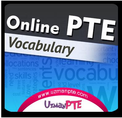 PTE Academic Kelime Çalışmaları