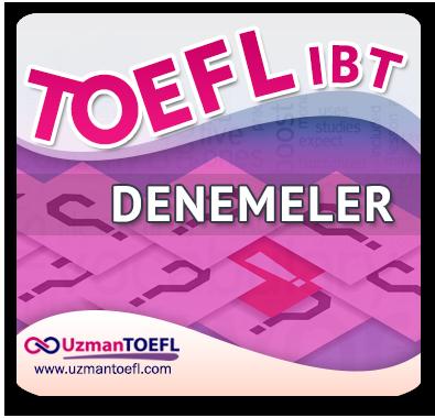 TOEFL IBT Denemeleri