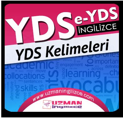 YDS / e-YDS Kelime Çalışmaları