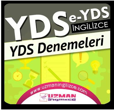 YDS / e-YDS Denemeleri