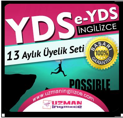 13 Aylık Üyelik Seti (YDS / e-YDS ) +  13 Aylık Genel İngilizce Seti (MyKelime.com)