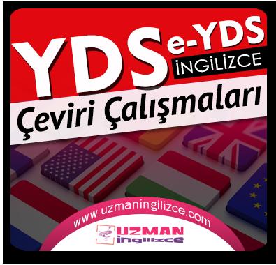 YDS / e-YDS Çeviri Çalışmaları