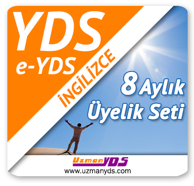 8 Aylık Üyelik Seti (YDS / e-YDS) + 8 Aylık Genel İngilizce Seti (MyKelime.com)