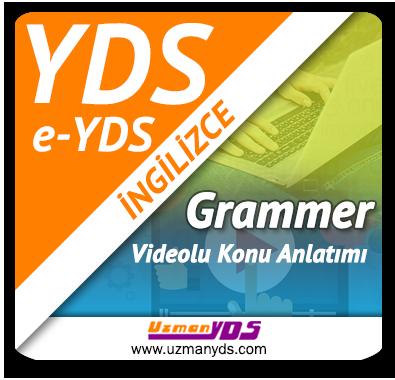 YDS / e-YDS Grammer Çalışmaları