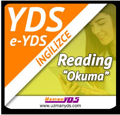 YDS / e-YDS Okuma Çalışmaları