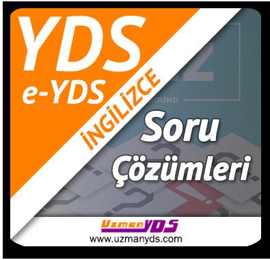 YDS / e-YDS Soru Çalışmaları