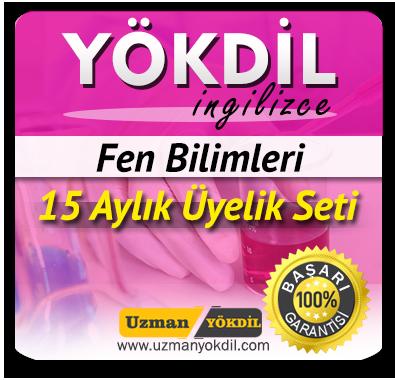 15 Aylık Üyelik Seti (YÖKDİL Fen) + 15 Aylık Genel İngilizce Seti (MyKelime.com)