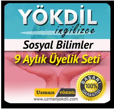 9 Aylık Üyelik Seti (YÖKDİL Sosyal) + 9 Aylık Genel İngilizce Seti (MyKelime.com)